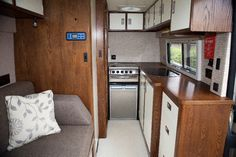 Wooden motorhome furniture and joinery for van conversions.Fine Wood Designs Ltd