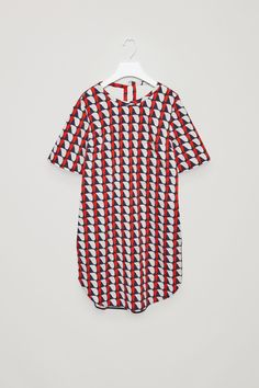 COS | Oversized printed t-shirt dress