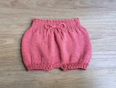 A personal favorite from my Etsy shop https://www.etsy.com/listing/226745808/baby-bloomers-knitting-pattern