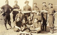 Baseball team, Tulalip Indian School, ca. 1912, UW Library American Indians of the Pacific Northwest Collection