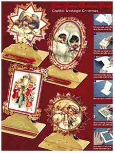 BASTELSETS / Craft Collection / CRAFT KITS: Staf Wesenbeek, Willem Haenraets en viele anderen. Bastelset, nostalgische Weihnachten