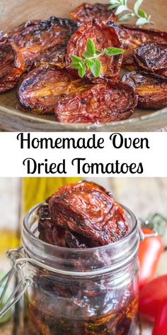 Homemade Oven Dried Tomatoes Fast & Easy Italian Recipe is part of Oven dried tomatoes - Oven Dried Tomatoes, how to make Homemade Oven Dried Tomatoes delicious and easy, tossed with olive oil and fresh spices Gluten free Vegetable Recipes, Vegetarian Recipes, Cooking Recipes, Cooking Tips, Basic Cooking, Italian Cooking, Veggie Dishes, Antipasto, Make Sun Dried Tomatoes