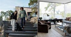 Harmoniskt arkitektritat sommarboende på Ingarö | Residence Magazine House Elevation, Outdoor Furniture Sets, Outdoor Decor, Scandinavian Home, Sweet Home, Patio, Cottage, Exterior, Villa