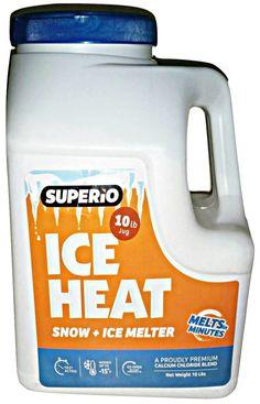 Superio Ice Heat Snow and Ice Melter