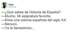 Historia de España. #humor #risa #graciosas #chistosas #divertidas