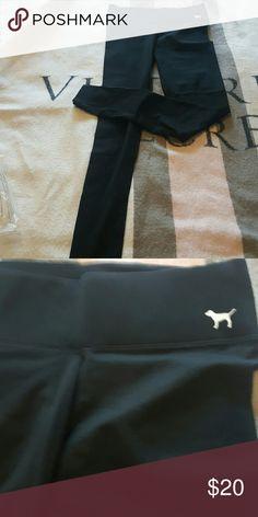 Black leggings Black yoga leggings. Brand new PINK Victoria's Secret Pants Leggings