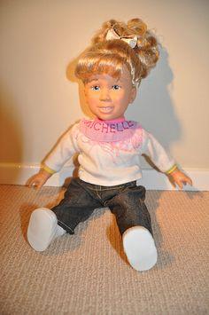 Michelle Doll from Full House Michelle Full House, Michelle Tanner, Fuller House, 90s Toys, 90s Nostalgia, The Old Days, Emma Watson, Becca, Childhood Memories