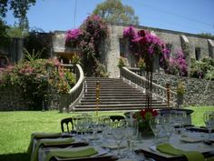 Hacienda Amalucan, an amazing old Mexican Hacienda in Puebla, Mexico, where our wedding will be.