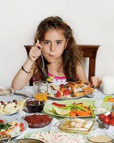 Rise and Shine: What kids eat for breakfast around the world, Pictured: Doga Gunce Gursoy, 8 years old, Istanbul