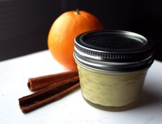 Pampered Pits Natural Deodorant with Orange and Cinnamon Essential Oil