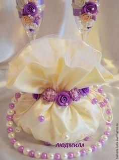 Сумочка для невесты  `Весенние цветы`