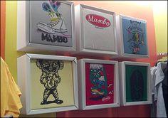 Shadowbox T-shirt Displays