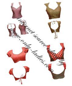 Fashion Designing: Princess cut designer saree blouse front and back neck designs