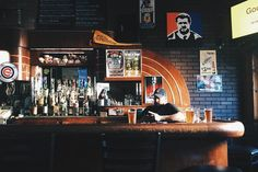 Making a new city your home starts with finding the right bar. A story about Corner Bar in Chicago by John Kessler. Photo by Emma Janzen.