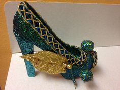 Green Greenie-Muses shoe 2014  created by Glitter365