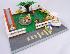 Custom LEGO Playground