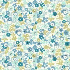 Flowers in Blue (Sevenberry - Petite Garden 2)