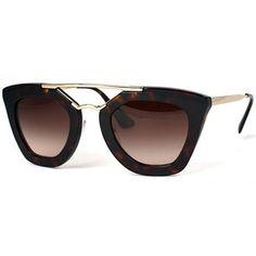 oculos sol feminino prada - modelo PR13Q ROK-4M1