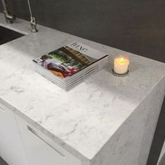 Best London Fog Caesarstone Quartz With The Look Of Marble 400 x 300
