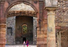 Ruins Inside Vasai Fort