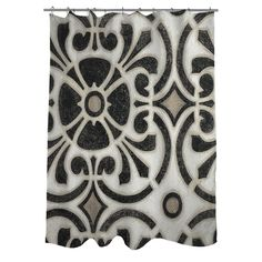 Thumbprintz Moroccan Symbol II Shower Curtain | Overstock.com Shopping - The Best Deals on Shower Curtains