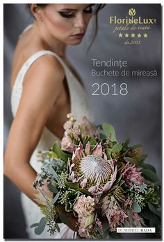 Buchet mireasa 2018, Tendinte nunta 2018, Buchete de mireasa tendinte 2018 - top 3 tendinte in flori de nunta 2018, acum pe blog: http://dosinescu.ro/buchete-de-mireasa-tendinte-2018/