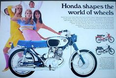 Vintage  CB160 ad