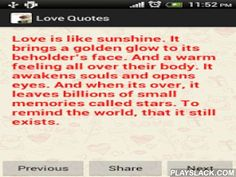Love Quotes App Interesting Love Quote Valentines Day Free Android App  Playslack