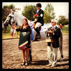 Kristi Nunnink and R-Star win the CIC3* at The 2013 Rebecca Farms 3 day event for the 2nd time in a row!!