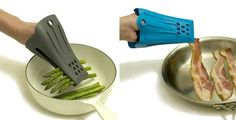 Heat-resistant silicone fingertongs™