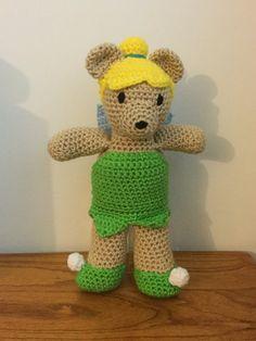 Crochet Amigurumi TinkerBear Fairy Doll by ShimmereeCreations