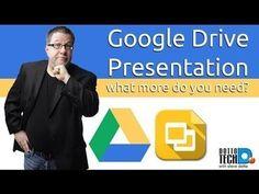 Using the Google Drive Presentation App