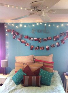 Easy $10 DIY   I CAN PICTURE THIS IN A TEEN AGERS ROOM