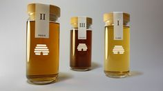 Mel Ibericus Honey by Thomas Nicholas, via Behance. Love the beehive on this #honey #packaging PD