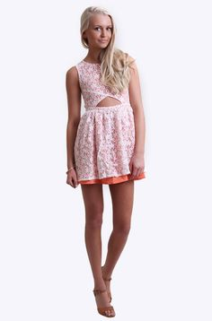 MinkPink - Fanciful Fit & Flare Lace Dress Mink Pink Minkpink, Lace Dress, Flare, Rompers, Fancy, Summer Dresses, Fitness, Clothes, Fashion