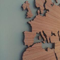 Houten wereldkaart | RawGifts