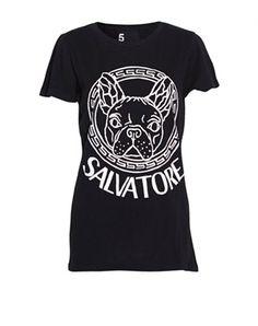 Salvatore printet T-shirt (550 kr.)