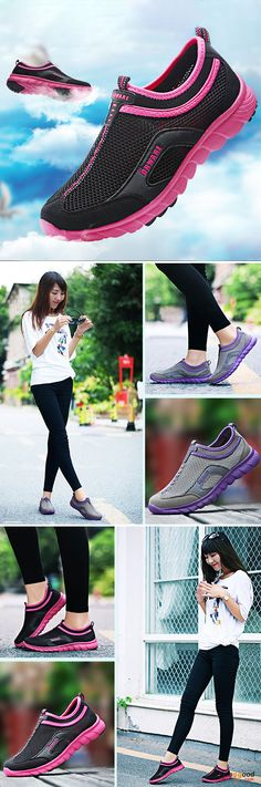 US$27.59 + Free shipping. Size(US): 5~9. Flat Shoes, Shoes for Women, Outdoor Athletic Shoes, Womens Fashion, Womens Shoes, Summer Outfits. Color: Black, Purple. Heel Height: 3cm. Platform Height: 1.5cm. Upper Material: Mesh.