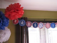 Decorations....Making Merry Memories: Raggedy Ann Party