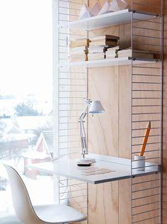 String arbetsplats via länna möbler