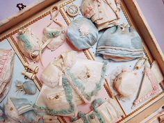 フレンチミニョネット・プレゼンテーションボックス - イギリスとフランスのアンティーク   バラと天使のアンティーク   Eglantyne(エグランティーヌ)