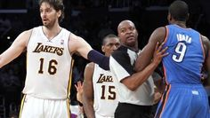 Metta World Peace may face multi-game suspension for cheap shot Thunder Players, Metta World Peace, Cheap Shot, All That Matters, Oklahoma City Thunder, Los Angeles Lakers, Games, Surface, Plays