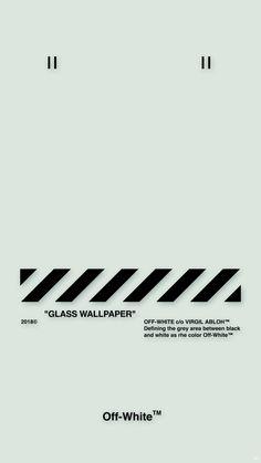 """Off-White™WALLPAPER IPHONE 壁紙 18/5/2 """"GLASS WALLPAPER"""" OFFWHITE オフホワイト"""