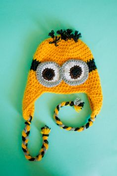 Despicable Me Hat (All Sizes). $25.00, via Etsy.