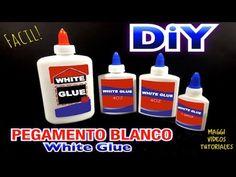 Como Hacer Pegamento Casero (Pegamento Blanco) 6 teáskanálnyi liszt, víz, 1 teáskanál só, 1/2 teáskanál cukor, palacsinta tészta sűrűségüre
