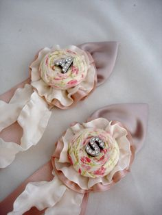 Lillybuds Ruffled Corsages, perfect for little flower girls.
