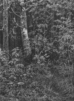 Thicket, 1879 Ivan Shishkin