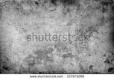cracked stone wall background - stock photo