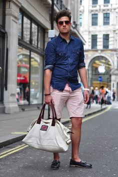 Pink Shorts For Men