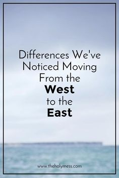 Differences Moving F